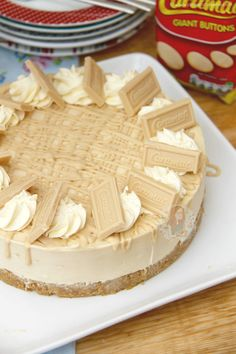 No-Bake Caramac Cheesecake! - Jane's Patisserie