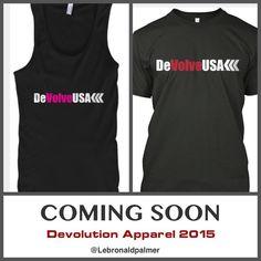 Check out www.facebook.com/DeVolveUSA