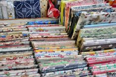 Nippori Fabric Town, Tokyo (note to self to visit next time I'm in Tokyo)