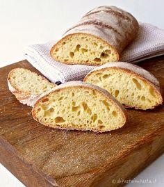 Di pasta impasta: Pane di semola di grano duro con lievito madre
