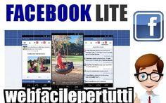 (Android App) Facebook Lite APK - Ecco il Link Per Il Download Della Nuova Versione Facebook Lite APK - Ecco il Link Per Il Download Della Nuova Versione  Facebook Lite è attualmente disponibile in 150 Paesi e 56 lingue differenti e l'applicazione è un vero successo nel mondo.Vi st #facebooklite #facebook #android