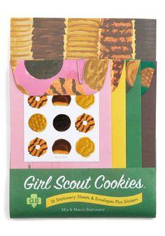 Girl Scouts Stationery Set - Set de papelería niñas exploradoras