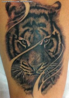 Tatuaje de Tigres, Animales