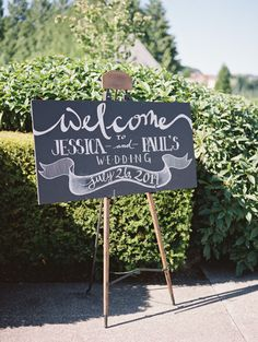 50 Shades of Green Oregon Wedding from Laura Nelson Photography - wedding ceremony idea