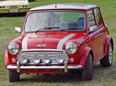 Mini Cooper. I want a British flag on top!