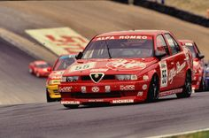 The Alfa 155 with Tarquini at the wheel was used to leading from the front in 1994.
