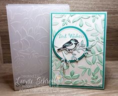 Dynamic Stampin Blends Background by Leonie Schroder Independent Stampin' Up! Demonstrator Australia using Layered Leaves Dynamic Embossing folder, Stampin' Blends and Petal Palette Stamp Set from @stampinup #stampalatte #petalpalette #occasionscatalogue2018 #stampinblends #cardmaking #iteachcardmaking #technique #stamping #classes #handmade #joinmyteam #stampinupaustralia