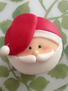 Cupcake Navidad Christmas Santa Claus Papa Noel Cupcakes