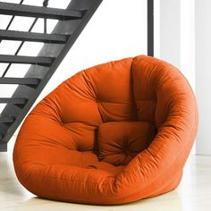 Giant nest chair. I want this for reading/movie watching so bad.