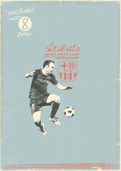 Andres Iniesta, FC Barcelona.