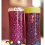 LEGO Calm Down Jar <--- I'm going to make one! :)