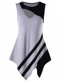 Fashion Clothing Site with greatest number of Latest casual style Dresses as well as other categories such as men, kids, swimwear at a affordable price. Tank Top Outfits, Style Feminin, Clothing Sites, Casual Tops For Women, Plus Size, Fashion Outfits, Tank Tops, Tanks, Clothes For Women