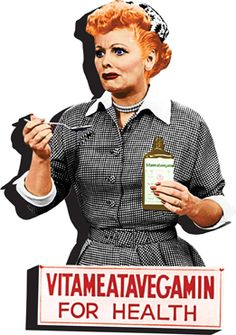 I Love Lucy Vitameatavegamin Chunky Magnet | LucyStore.com