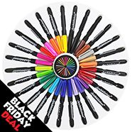 Scribblicious Permanent Markers - Pack Of 28 | Now just £4 #BlackFridayDeals