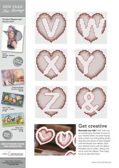 Love Is In The Air From The World of Cross Stitching N°238 February 2016 5 of 5