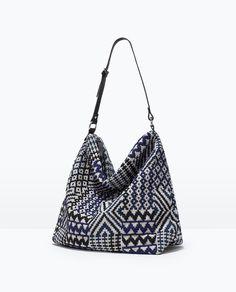 ETHNIC HANDBAG-Handbags-TRF-SHOES & BAGS   ZARA United States