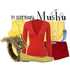 """Mushu"" by lalakay on Polyvore #disney"