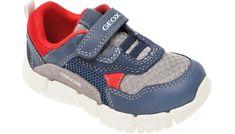 Pantofi sport GEOX bleumarin, B022TA, din material textil si piele naturala