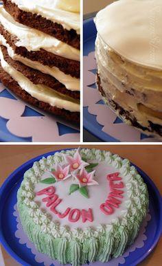 Äidin 60 v. kakku