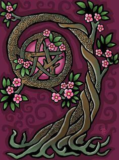 Árbol Pentacle por ORUPSIA Tree Pentacle by ORUPSIA