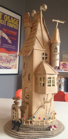 Cardboard witch house