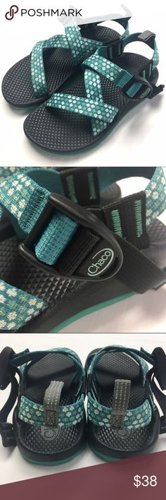 Girls Size 12 Chacos Excellent Pre Loved Condition! Adorable teal color Chacos little girl size 12.                              🎉Bundle & Save 15% 🎉 🚫Sorry No Trades🚫 ❣️Reasonable Offers Always Considered ❣️ 💞💞💞 Happy Poshing! 💞💞💞 Chaco Shoes Sandals & Flip Flops