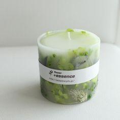 ボタニカルキャンドル[ガーデン] キャンドル +essence ハンドメイド通販・販売のCreema