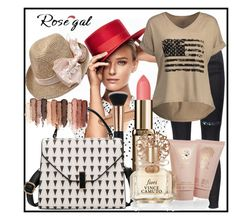 """""""Rosegal"""" by boro-cdlxi ❤ liked on Polyvore featuring Vince Camuto and tarte"""