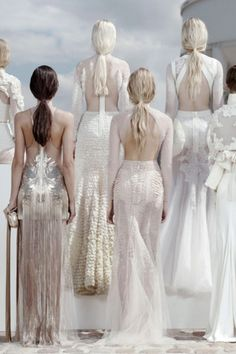 Givenchy vintage style wedding dresses