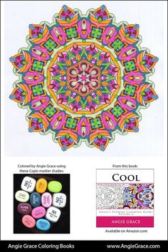 Angie's Color Palettes - Angie Grace Coloring Books