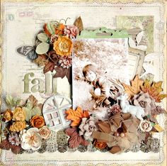 fall - Scrapbook.com Prima - Londonerry Collection+ Printery