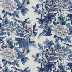 """NANKING - RALPH LAUREN BLUENANKING - RALPH LAUREN  BLUE  END USE:Drapery, Bedding, Pillows, Light Use Furniture WIDTH:54"""" REPEAT:Vertical - 13.00"""" FIBER CONTENT:100% Cotton ORIGIN:USA FINISH:Soil and Stain Repellent BACKING:N/A RAILROADED:N ?"""