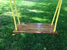 Pallet Swing by TheEssenceOfWood on Etsy, $66.89