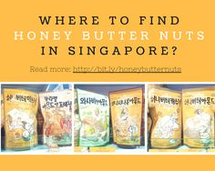 Where to find Honey Butter Nuts in Singapore? - mitsueki ♥ | Singapore Lifestyle Blogger - Food, Fashion, Travel