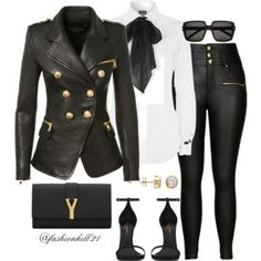 A fashion look from January 2016 featuring Polo Ralph Lauren blouses, Balmain blazers e City Chic jeans. Browse and shop related looks. Fashion Wear, Fashion Looks, Fashion Outfits, Womens Fashion, Petite Fashion, Curvy Fashion, Style Fashion, Fashion Beauty, Classy Outfits