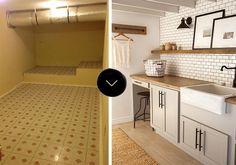 Before & After: Jenna's Laundry Room Makeover | Design*Sponge