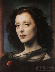 Pietro Annigoni (1910-1988) ~  Portrait of a Woman