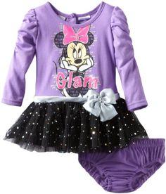 Amazon.com: Disney Baby-Girls Infant 2 Piece Minnie Mouse Glam Dress Set: Clothing