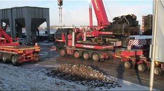 Proef draaien en Transport Smeedmanipulator bij Breman-Machinery in Gene...