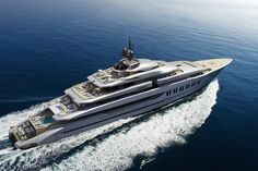 Hot Lab: yacht & design Oceanco Primadonna DP 028 beautiful layer lines and special aft design