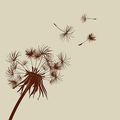 Dandelion Seeds Blowing | My tattoo idea…