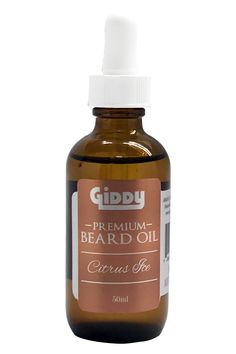Handcrafted and made from 100% all natural ingredients, our beard oil is quickly absorbed into the skin creating a full, soft, itch/flake free and luscious shining beard. Our beard oil blends are bold enough to wear on their own, or subtle enough so it won't clash with your cologne. In true GIDDY fashion, we have selected some of the best natural ingredients to give your beard the attention it deserves! Size: 50mL (1.7 oz) Ingredients: Sweet Almond Oil Apricot Oil Jojoba Oil Fractionated… Argan Oil, Jojoba Oil, Moringa Oil, Sweet Orange Essential Oil, Pumpkin Seed Oil, Apricot Oil, All Natural Skin Care, Fractionated Coconut Oil, Beard Oil