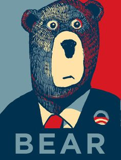 Day 49. Who invited the bear to be president of the USA?