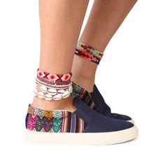 Slipo marino | MIPACHA Shoes | Spring/Summer 2015 | Handmade in Peru | Festival Shoes
