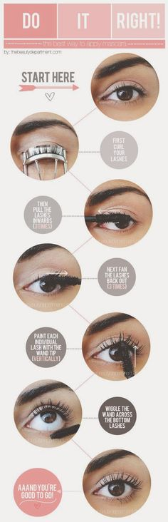 : These simple techniques really coat and direct each lash for the best mascara applications