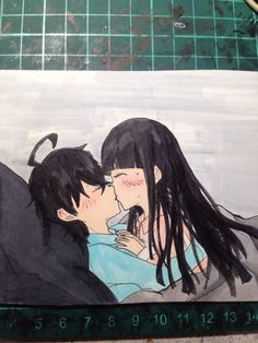 #rokubeni kiss