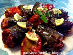 Gülay'ın Nefis Tarifleri: Antep usulü Kuru Patlıcan Biber Dolması
