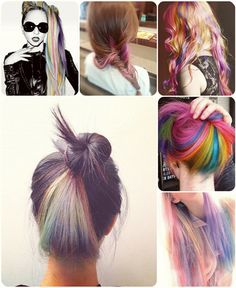 Easy and Best 10 Dip-dye Ombre Color Hair Ideas without Bleach at Home