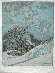 Sylvan G. Boxsius (British, b. 1878). Winter.