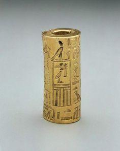 Sello oficial egipcio, Imperio antiguo, V Dinastia, 2381-2353 B.C.